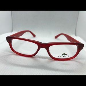 Brand New Lacoste Kids Eyeglasses Frame Red L3605